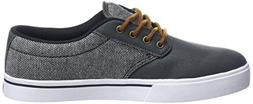 Etnies Jameson 2 Eco, Scarpe da Skateboard Uomo Grigio (Dark Grey/Black/White / 029)