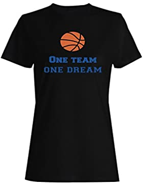 Un Equipo De Un Sueño De Baloncesto camiseta de las mujeres n610f