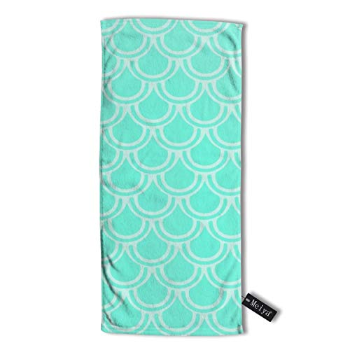 Pillowcase Wholesale Mermaids Multi-Purpose Microfiber Towel Ultra Compact Super Absorbent and Fast Drying Sports Towel Travel Towel Beach Towel. - Athletic Striped Wrap