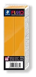 Staedtler 8041-17. Pasta para modelar Fimo Professional. Caja con 1 Pastilla de Color Ocre de 454 Gramos.