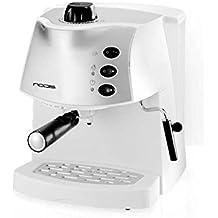 Nodis ND-AROMADELUXEW Macchina Caffe Espresso, 850 watts, Bianco