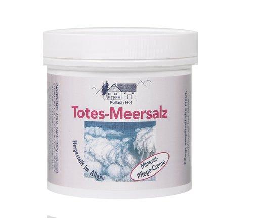 Totes Meer Salz-Creme 250ml - Allgäu Pullach - Akne Salz, Meer