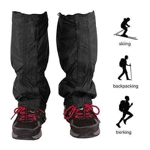 Hidewalker Ghette Impermeabili Trekking per Donne e Uomini Coprigambe da Gamba Traspiranti da Neve per Esterno Camminata Arrampicata Aaccia Campeggio Escursionismo