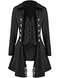 it gotica Giacche Uomo e Abbigliamento cappotti Amazon PUnwpqdAU