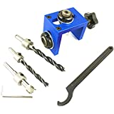 Zanderous3-in-1 Perforated positioner Standard Version, Woodworking Tool self-Positioning Fixture and Adjustable Fence Allow Precise Alignment