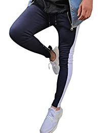 LuckyGirls Pantalones Hombre Chandal Originales Color de Hechizo Ropa Deportiva  Suelto Gimnasio Jogger Running Casuales Slim c1a90aa4d8493