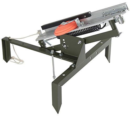 Nitehawk - Wurfmaschine zum Tontaubenschießen - manuell einstellbar - als Trainingshilfe