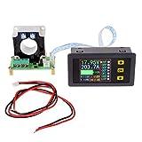 Xurgm LCD Digitalanzeige Voltmeter Amperemeter DC 0-90V 0-100A Strom Spannung Monitor-Power Energy-Multimeter mit integriertem Shunt Hall Sensor
