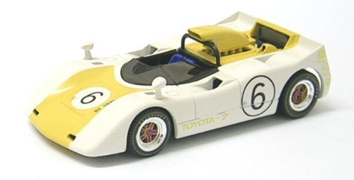 EBBRO 1/43 TOYOTA 7 JAPAN GP 1969 6 WHITE / YELLOW (JAPAN IMPORT)