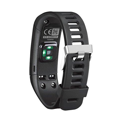 Silikon Ersatz Armband für Garmin Vivosmart HR, CICIYONER 1 PC Soft Einfache Sport Strap WristBand Zubehör, 5 Farben zu wählen (Schwarz, Garmin Vivosmart HR)