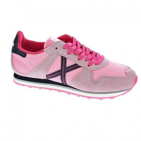 Munich Unisex, bambini Mini Massana scarpe sportive rosa Size: 34 EU