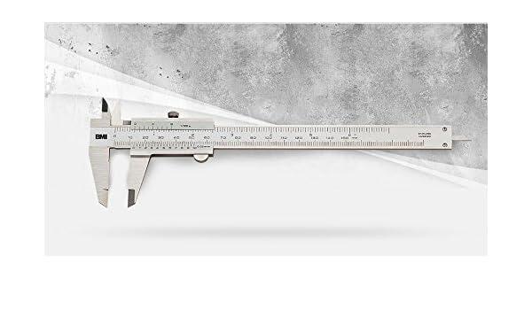 BMI 760150/Messschieber silber 150/mm
