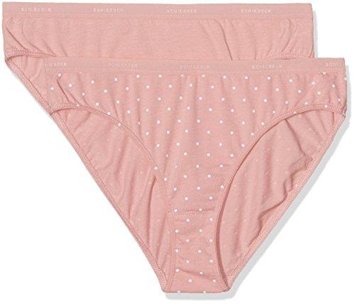 Schiesser Damen Bikinislip Tai (2er Pack), Mehrfarbig (Sortiert 901), 42