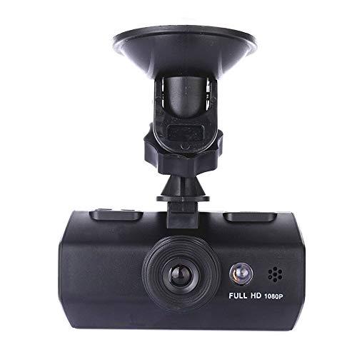 """SSCJ Dual Dash Cam Infrarot-Nachtsicht Dual 1080P Front und Rear Dashcam für Autos 2\""""90 ° -Kamera mit Sony-Sensor, Parkmodus, G-Sensor-Unterstützung 32G TF-Karte"""