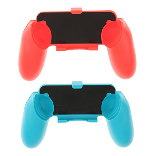 MagiDeal 2 Pieces Gamepad Hand Grip Holder Stand Bracket for Nintendo Switch NS Joy Con Console