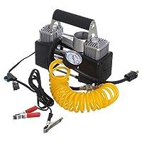 Ultra Heavy Duty 2 Cylinder 12v Auto Air Compressor 85 Liter per minute