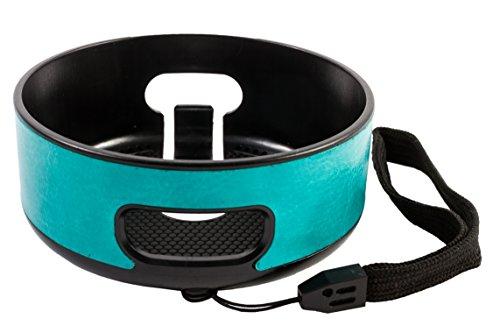 Biddy Amazon Echo Dot Wandhalterung Deckenhalterung Halterung Hülle Schutzhülle Tasche Case Cover Zubehör - nur für 2. Generation - blau