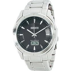 Eurochron Funk Armbanduhr SS 13310G02 (Ø x H) 44 mm x 12 mm stainless steel Gehäusematerial=Edelstahl Material (Ar