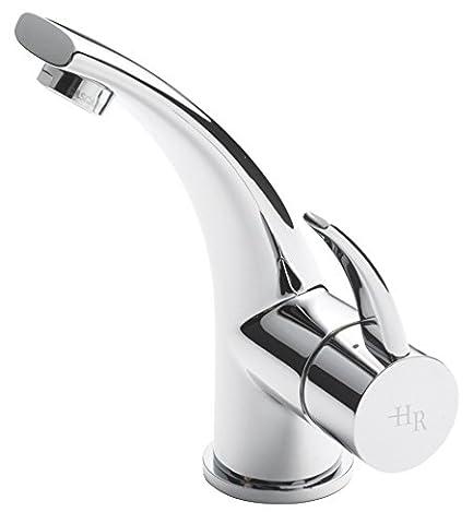 Hudson Reed gra305Grace Mitigeur lavabo monobloc et vidage–Chromé (Lot de 2)