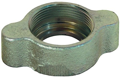 Boss Ground Joint (Dixon Valve B67 Plated Iron Ground Joint Boss Fitting, Wing Nut, 6 Hose ID by Dixon Valve & Coupling)