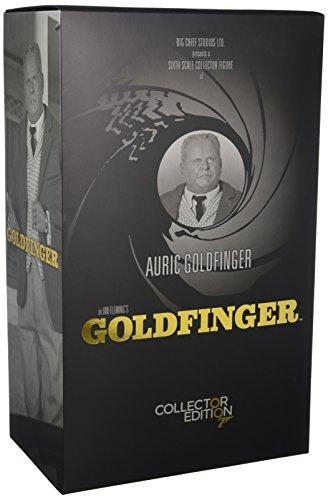 Big Chief Studios BCJB0004 Auric Goldfinger Figur, 1:6 Scale
