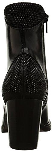 Donna Piu Brigida 9646, Bottes Classiques femme Noir (Tequila Nero)