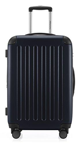 HAUPTSTADTKOFFER - Spree - 3er Koffer-Set Trolley-Set Rollkoffer Reisekoffer Erweiterbar, TSA, 4 Rollen, (S, M & L), Dunkelblau - 5