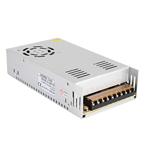 Redrex 24V 15A DC Universal Geregeltes Schaltnetzteil 360w Gebaut mit Temperaturgesteuertem Lüfter für CCTV, Radio, Computerprojekt, 3D-Drucker, LED-Treiber