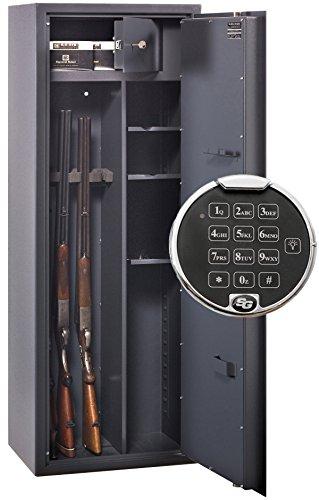 Waffenschrank WF 1500-Kombi ITB mit Zahlenschloss und Regalteil