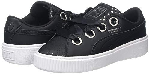 9cd0f5b5 Puma Womens Platform Kiss Ath Lux WNs Low-Top Sneakers, Black Black ...