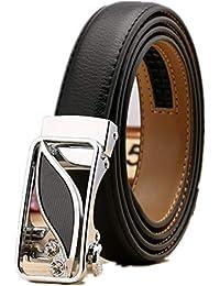 ZKPMJH Cinturón De Mujer Hebilla Automática De Cuero De Ocio Baitao Litchi  Patrón Cinturón ... b5d8496c7bdd