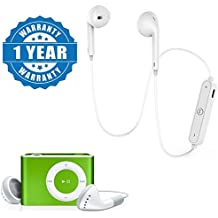 Captcha S6 Sports In Ear Bluetooth 4.1 Headset With ipod MP3 player Support SD Card Slot Compatible with Smartphones (One Year Warranty)