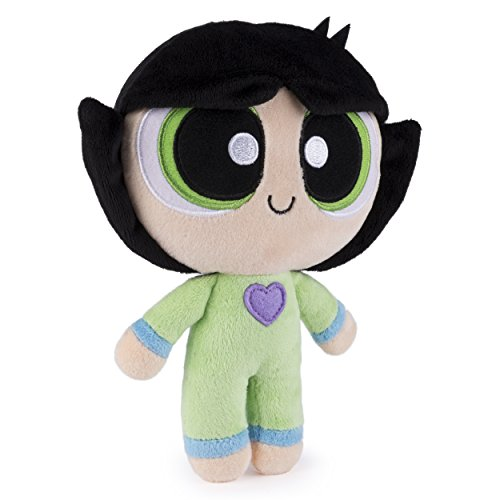 Powerpuff Girls 8 ''Kollektion Buttercup In Pyjamas Weiche Plüschtiere (Mädchen Powerpuff Buttercup)