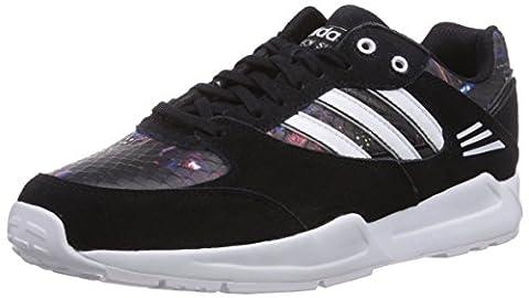 adidas Originals Tech Super, Damen Sneakers, Schwarz (Core Black/Ftwr White/Core Black), 38 2/3 EU (5.5 Damen