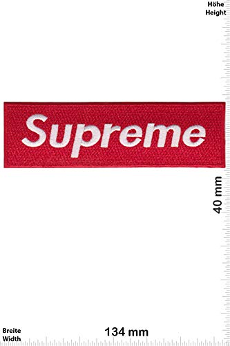 Patch Parches   Supreme Rot/Weiss   Medium   HQ