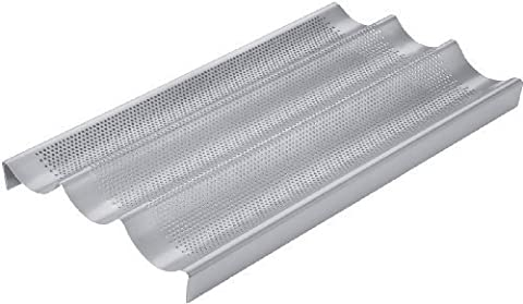 Chicago Metallic Commercial II Non-Stick Perforated Baguette Pan by Chicago Metallic