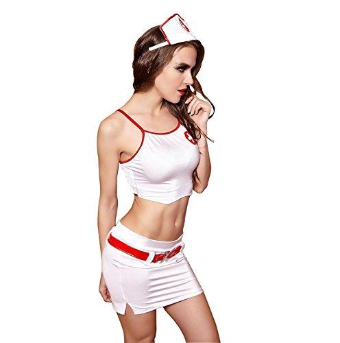 Frauen süße Herz Krankenschwester Sexy Schlafzimmer Kostüm, sexy Krankenschwester Dessous für Frauen , (Der Herzen Königin Für Sexy Erwachsene Kostüme)
