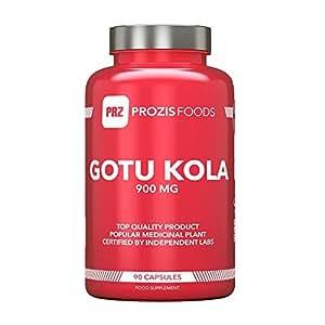 Gotu Kola (Centella asiatica) 900 mg 90 caps