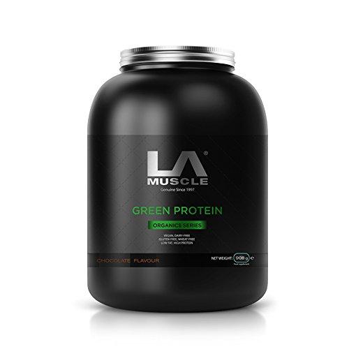 LA Musclel Grün Protein 908g (Erdbeere)