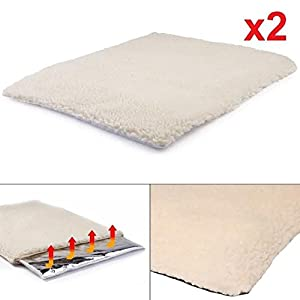 2-x-Self-Heating-Pet-Blanket-Pad-Ideal-for-CatDog-Bed-Medium