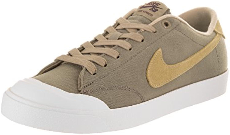 Zapatillas Nike Zoom All Court Ck Khaki / Muchroom, blanco, para hombres 11.5 Hombre US