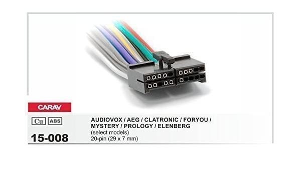 AEG PROLOGY CLATRONIC AUDIO VOX FOR YOU Kabel Stecker Radio Adapter Auto