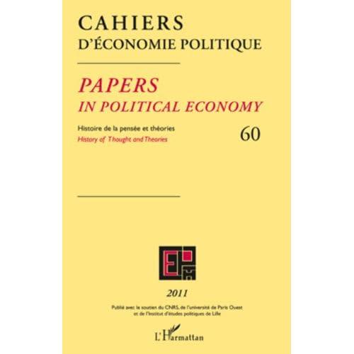 Cahiers d'économie politique 60