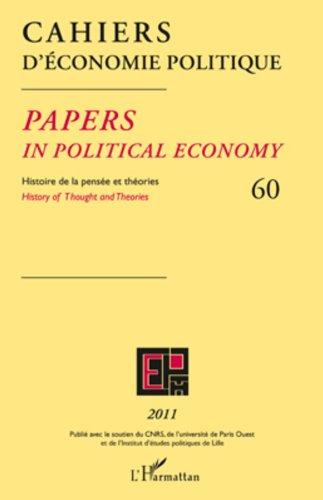 Cahiers d'économie politique 60 par Claire Pignol