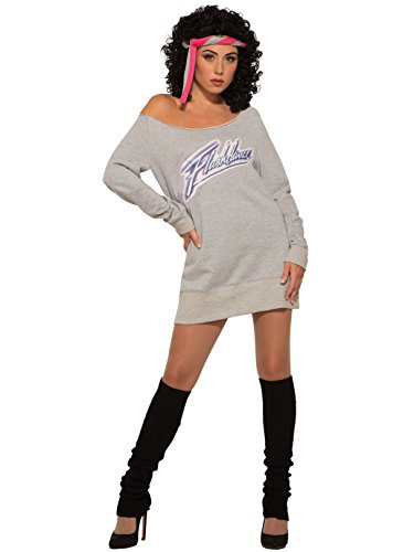 Womens Adults Flash Dance Costume