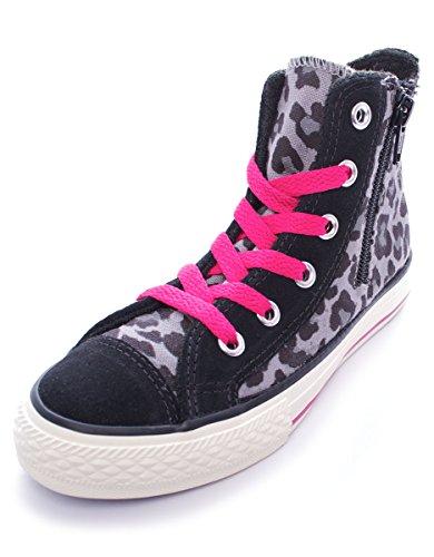 Moda Lb Side Star Jungen Charcoal All Schuhe 646202c Zip Black Hi Spots Converse x18qn0Y1