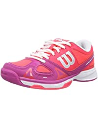 WILSON Rush Pro Junior Chaussures de Tennis Mixte Enfant c53fac75058e
