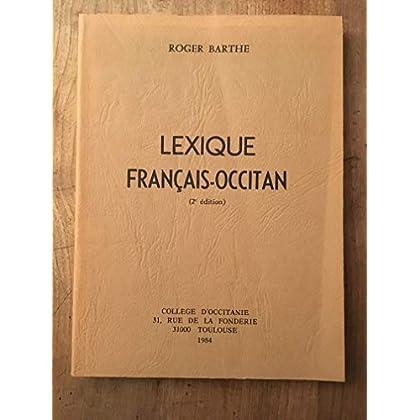 Lexique français-occitan