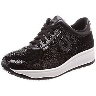 Agile By Rucoline Sneakers Gelso Stars Black, Black, 35