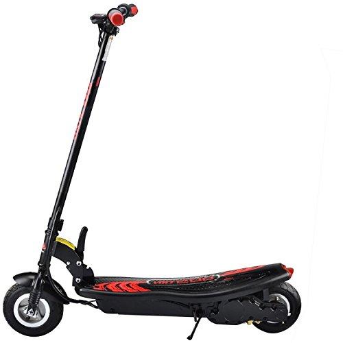 Patinete Eléctrico Niño sin Asiento Plegable - Scooter Sin Silla y Acelerador 250W Negro